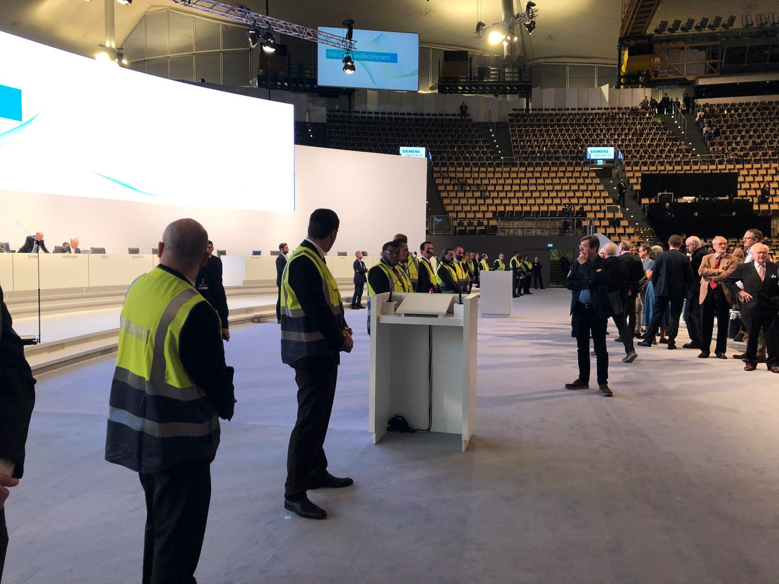 HV Siemens 2020 / Bühne