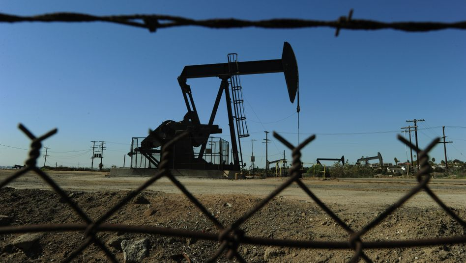 Öl-Pumpen nahe Los Angeles: Rezessionsangst flaut ab