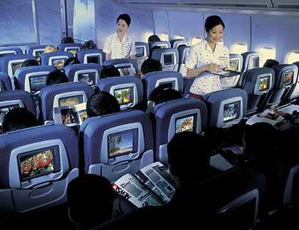 Spitzenreiter Cathay Pacific: Freundlichkeit des Personals war ausschlaggebend für die Topbewertung