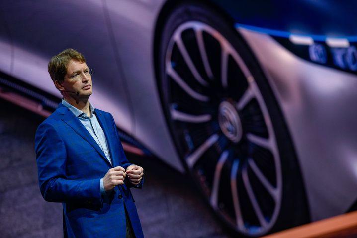 Mann mit Fokus: Daimler-Chef Ola Källenius will das Lkw-Geschäft abspalten