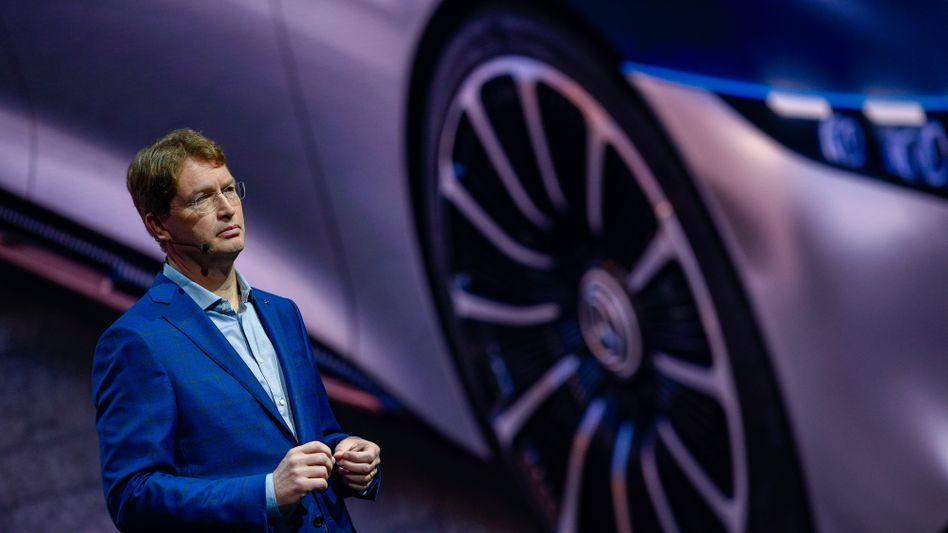 Optionen für die Lkw-Sparte: Daimler-Chef Ola Källenius plant nun offenbar sehr konkret, das Lastwagengeschäft vom Rest des Konzerns abzuspalten