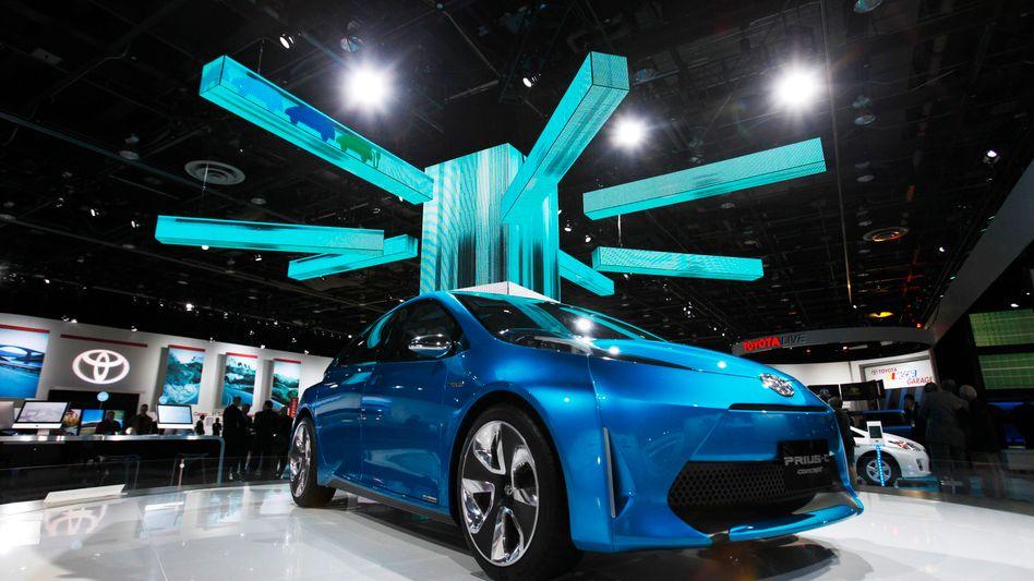 Toyota Prius C concept car: Austellungsstück auf der Motorshow in Detroit