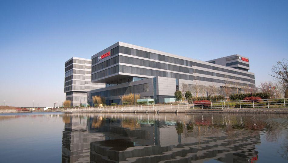 """Bosch-Hauptquartier in China: """"ordentliches zweistelliges Wachstum"""""""