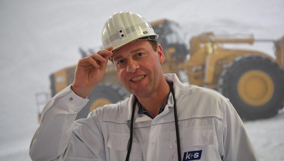 Erst Finanzchef, dann Vorstandschef: Burkhard Lohr vom Kali- und Salzproduzenten K+S