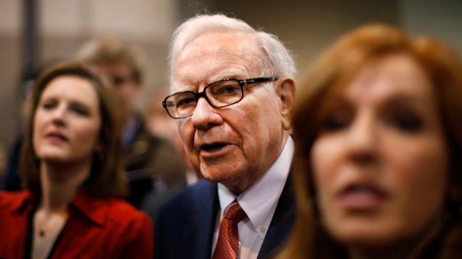 Stets auf der Suche nach Investments: Berkshire-Chef und Multimilliardär Warren Buffett.