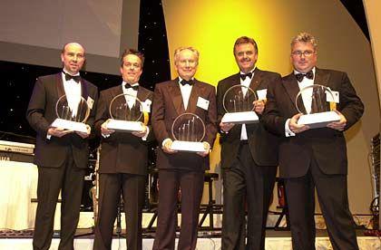 Entrepreneure des Jahres: Die Preisträger am Donnerstagabend in der Frankfurter Alten Oper