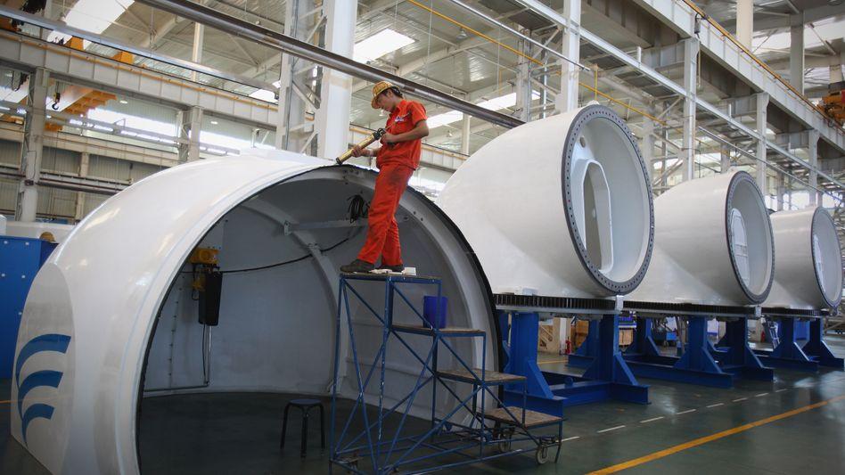 Windanlagenbau in China: Vielfach Fertigung statt Forschung