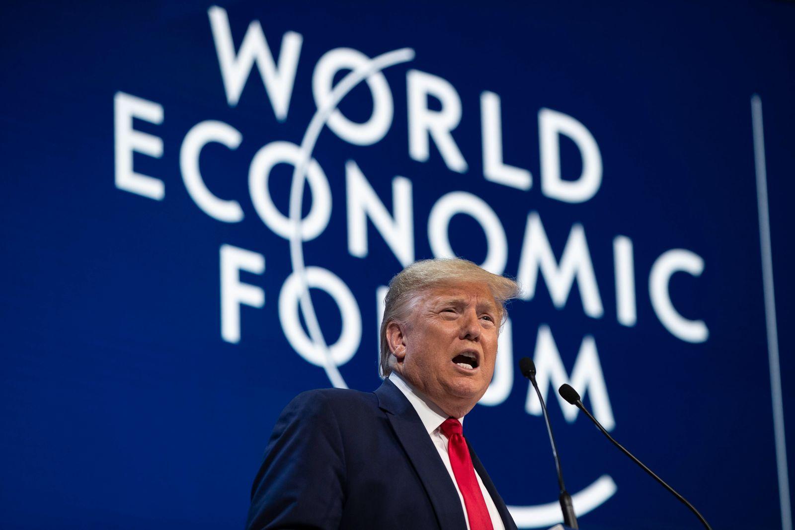 Trump / Davos