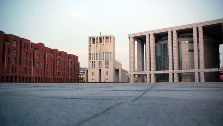 """Chinas """"deutsche Geisterstadt"""": Wenn die Sonne untergeht in Anting"""
