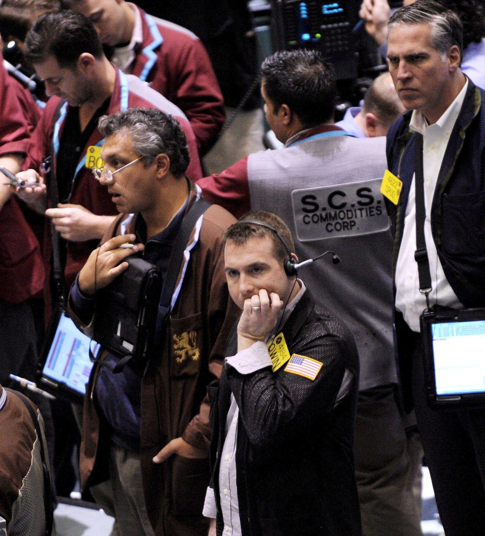 Börse in New York - Ölpreise auf Talfahrt