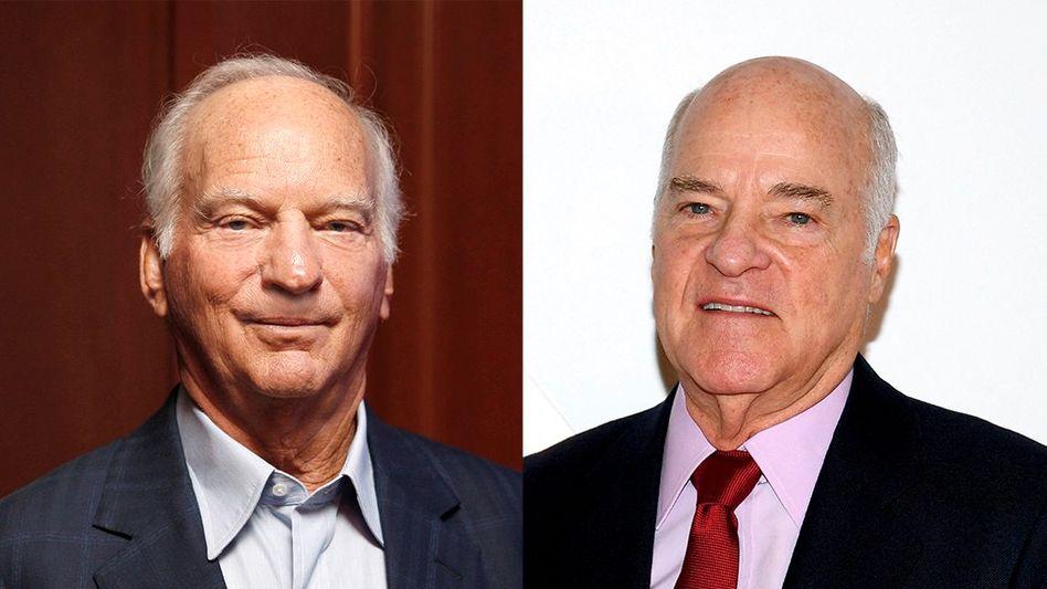 Rückzug: George Roberts (l. ) und Henry Kravis haben das Private-Equity-Unternehmen KKR mit gegründet und übergeben die Führung nun an die nächste Generation