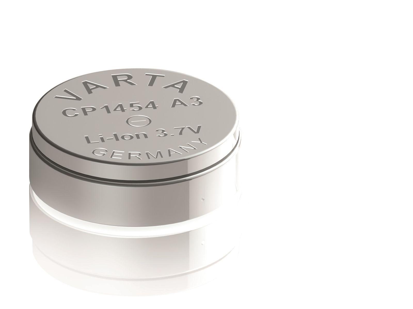 Lithium-Ionen Knopfzelle / Varta