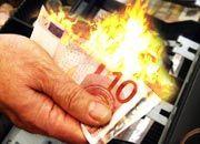 Geld verbrannt: Die Dax-Titel stehen nicht auf der diesjährigen Schandliste