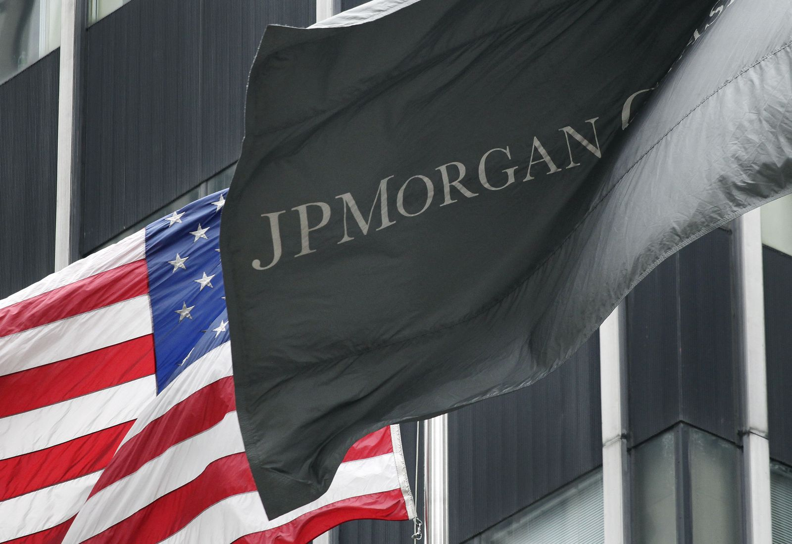 JPMorgan Chase / Flagge
