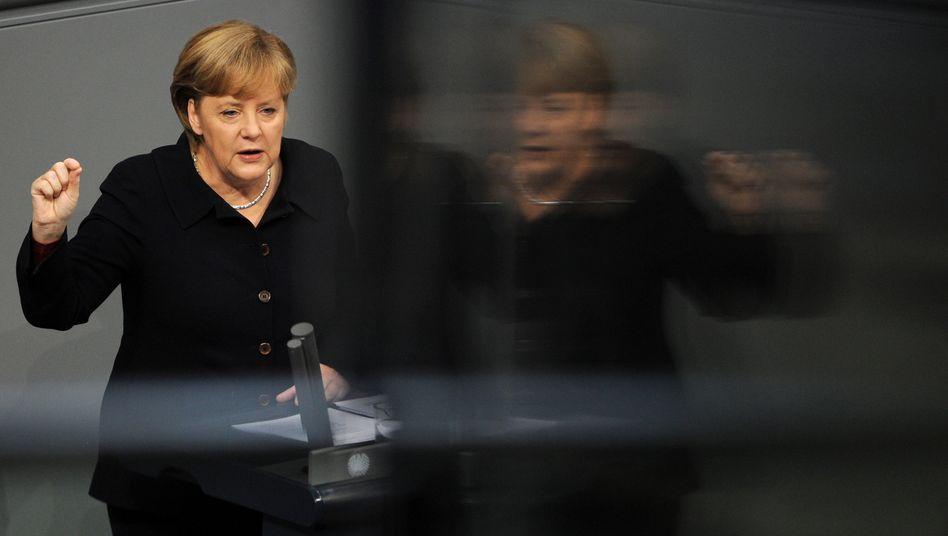 """Bundeskanzlerin Angela Merkel: """"Konstruktionsfehler der Währungsunion werden behoben"""""""