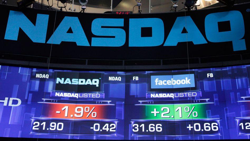Massive technische Probleme: Der Facebook-Börsengang geriet für die US-Technologiebörse Nasdaq zu einem Fiasko