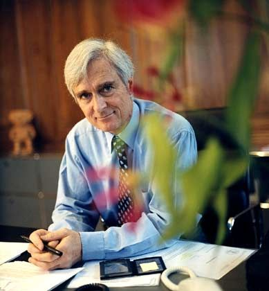 Räumt seinen Posten: Swiss-Re Präsident Forstmoser