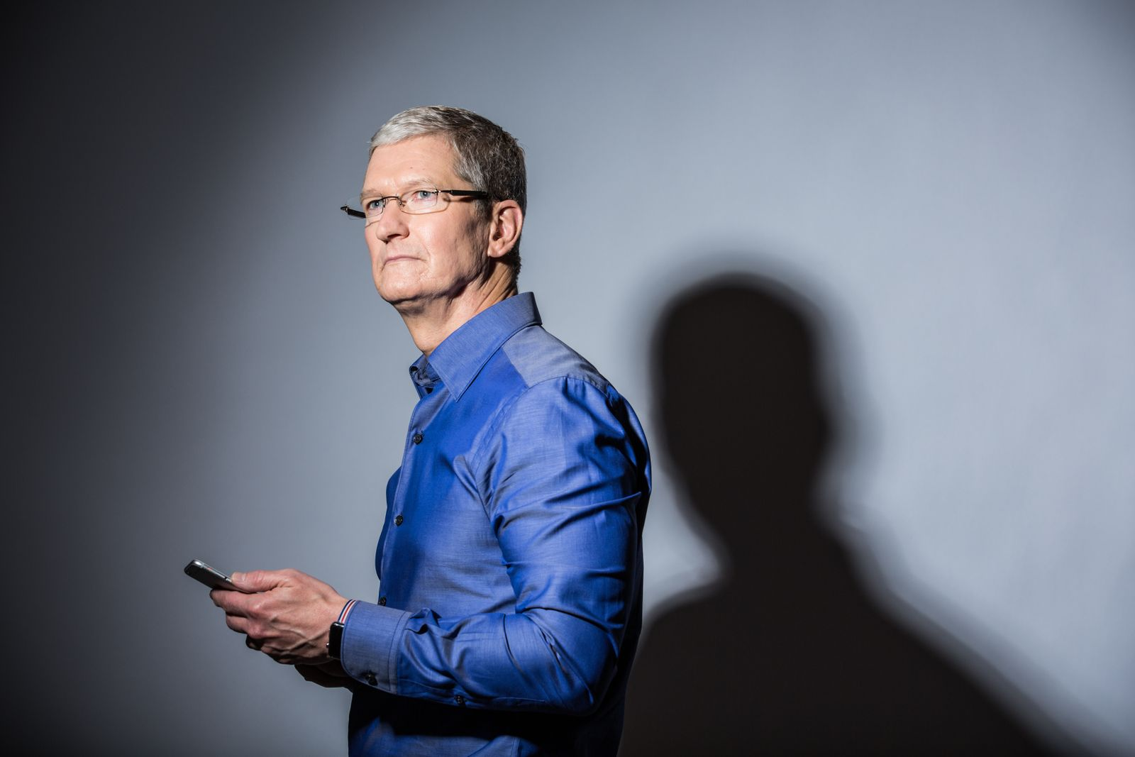 Tim Cook Portrait