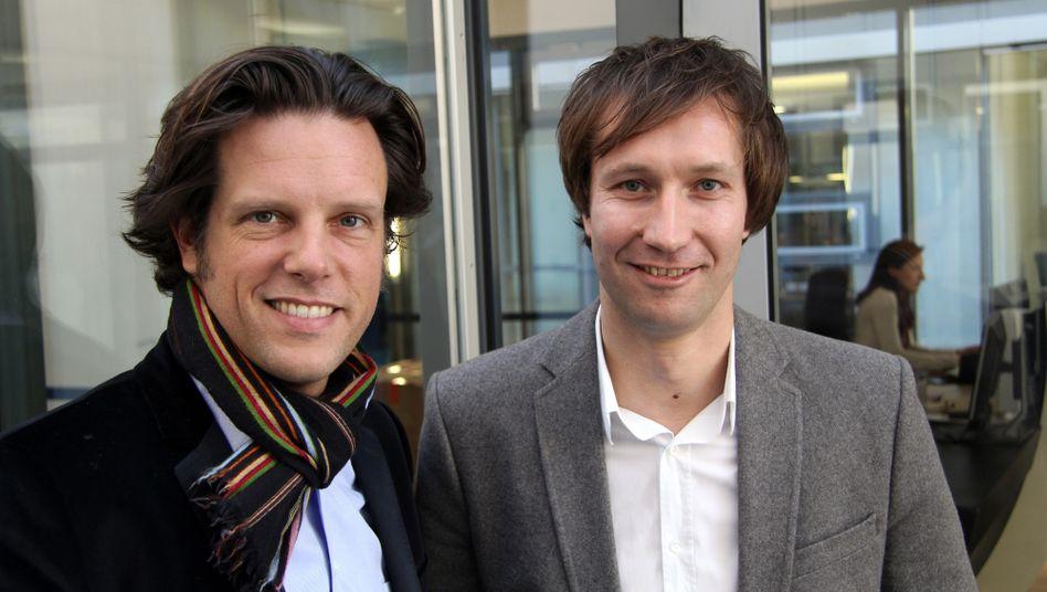 Ein Erbe und ein Gründer: Florian Haller, Serviceplan, und Markus Noder, Liquid Campain