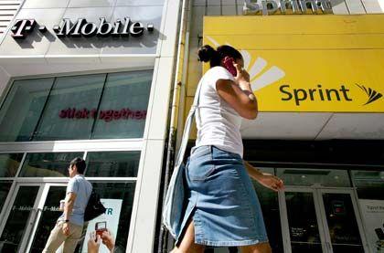 Annäherung: Die Telekom will angeblich Sprint Nextel übernehmen
