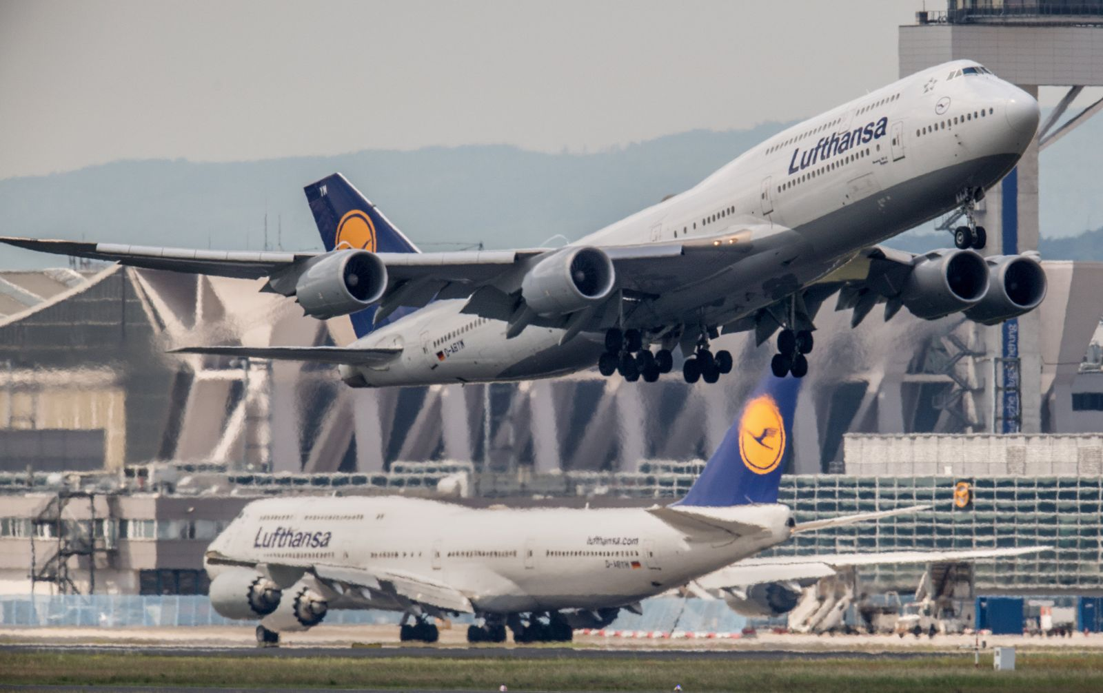 Flughafen Frankfurt Jumbo