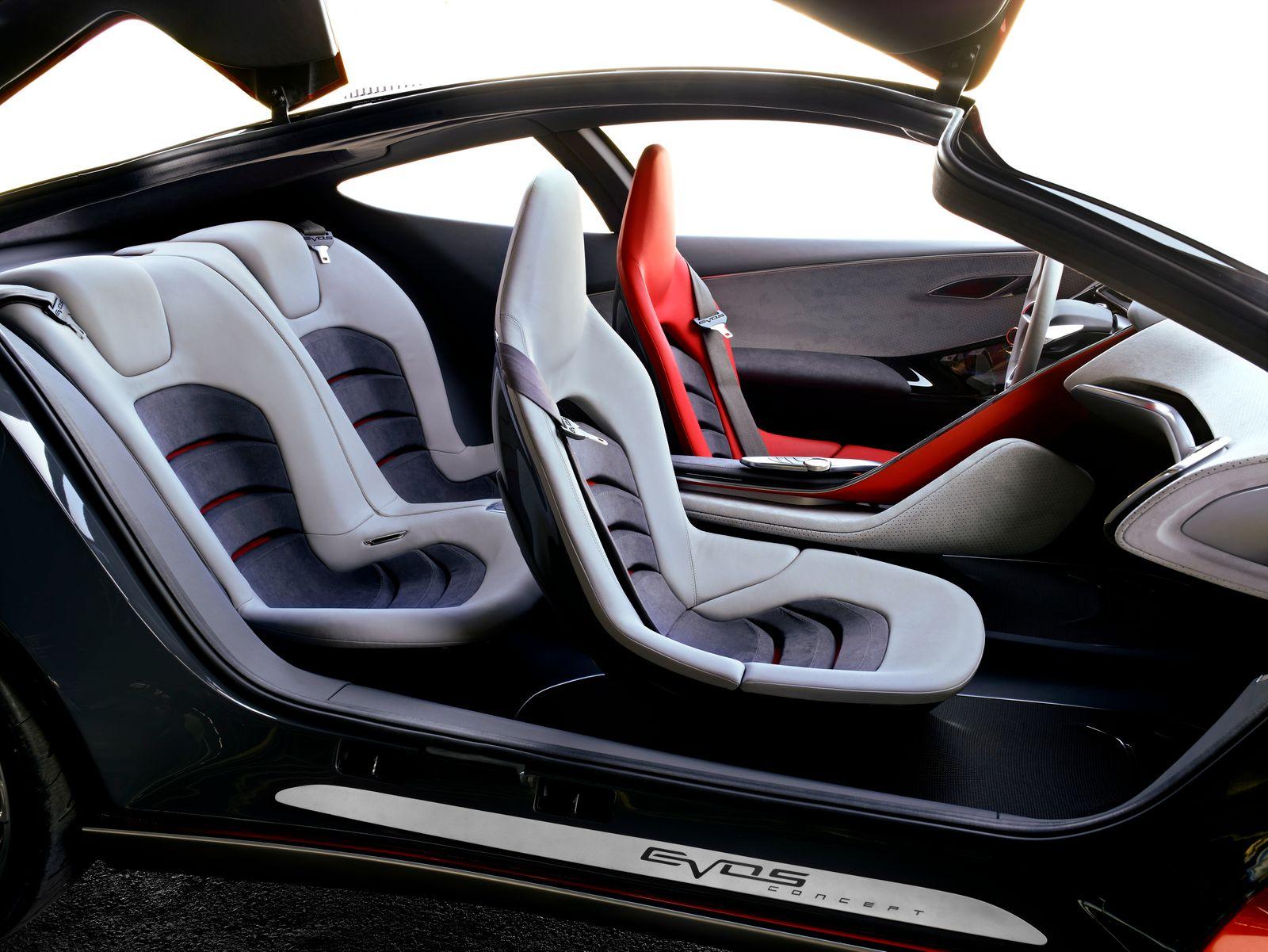 Ford Evos / Innenraum