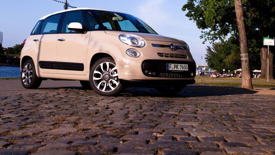 Fiat-Viertürer 500 L: Trotz einiger beliebter Modelle ist Fiats Marktanteil EU-weit weiter zurückgegangen