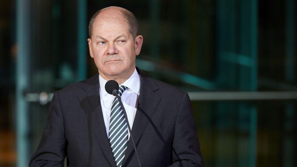 Legt bis zu zehn Milliarden Euro extra raus: Bundesfinanzminister Olaf Scholz will Firmen für ihre Umsatzausfälle entschädigen