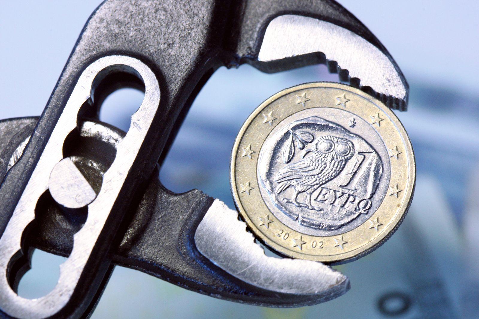 Euro in der Zange / Euro-Krise