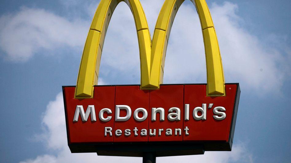 McDonald's-Logo in den USA: Vorbereitung auf die Sommermonate