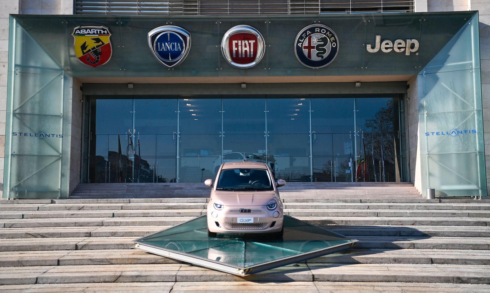 Italy Auto Industry Stellantis