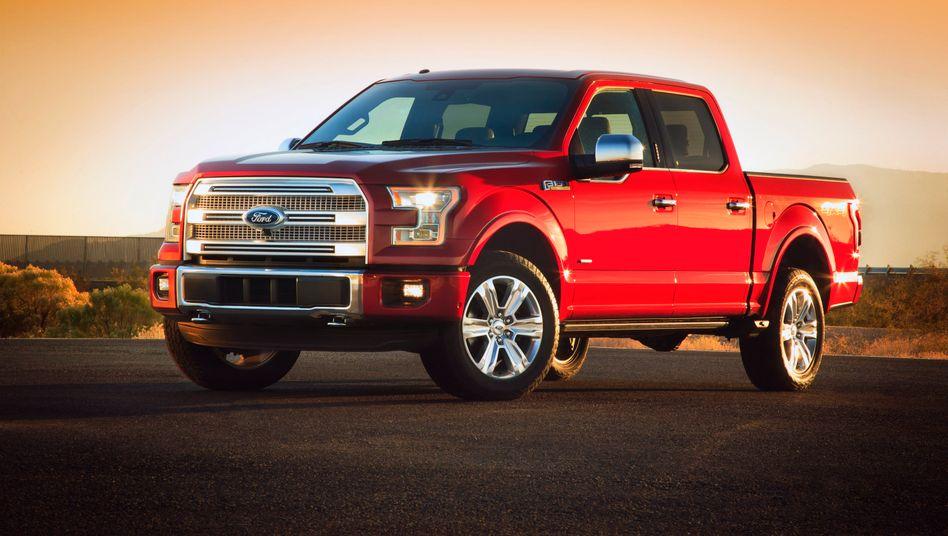 Ford F-150: Leichtbau ist nicht die erste Assoziation, die der schwere Wagen hervorruft