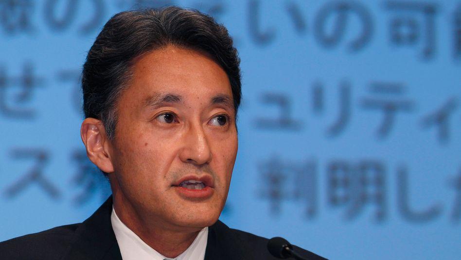 Sony-Computer-Entertainment-Chef Kazuo Hirai: Muss weitere schlechte Nachrichten verkünden