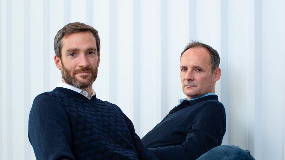 ManoMano-Gründer: Philippe de Chanville (l.) und Christian Raisson