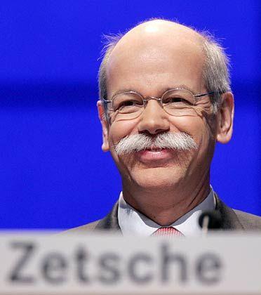 Chrysler-Problem von der Bühne: Daimler-Chef Zetsche