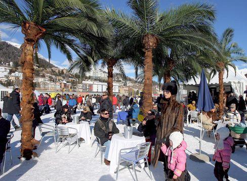 "St. Moritz: Als ""Top of the World"" lobt sich der Engadiner Ort selbst"