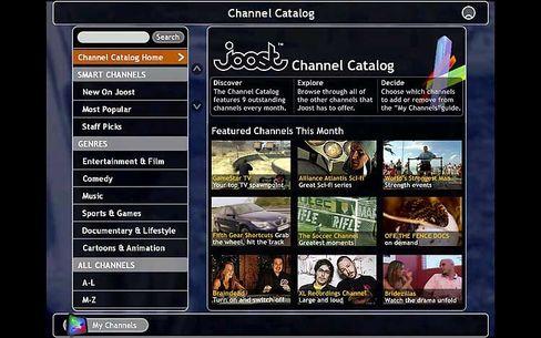 IPTV-Startup Joost: Viel Presseecho, wenig wirklich gutes Programm