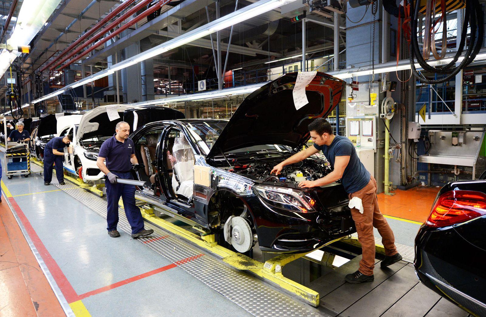 Mercedes / S-Klasse / Produktion