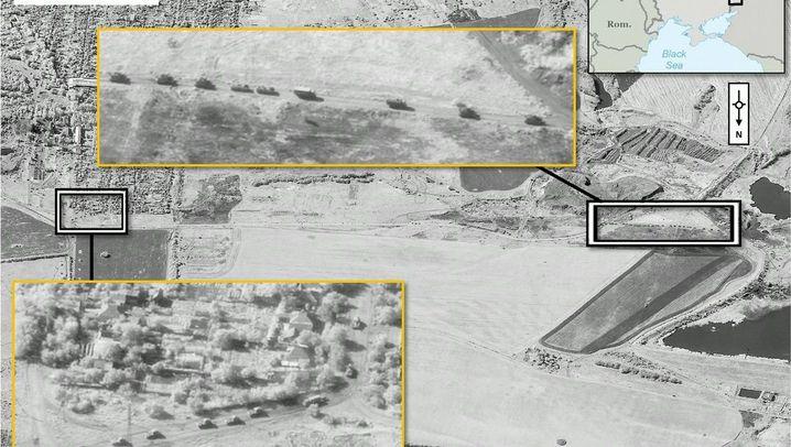 Ukraine: Nato zeigt Satellitenbilder