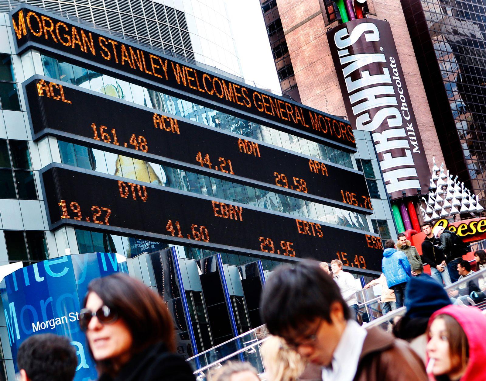 General Motors / Börse / Morgan Stanley welcomes GM