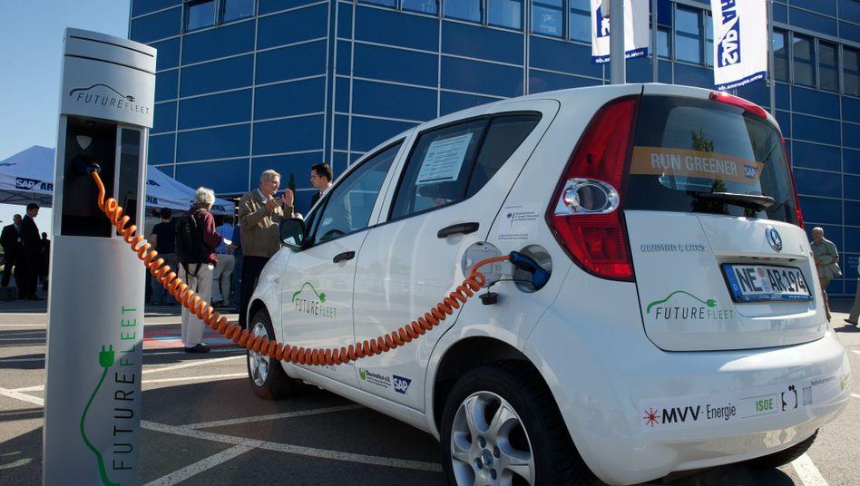 SAP-Elektroautos: Für kurze Distanzen geeignet