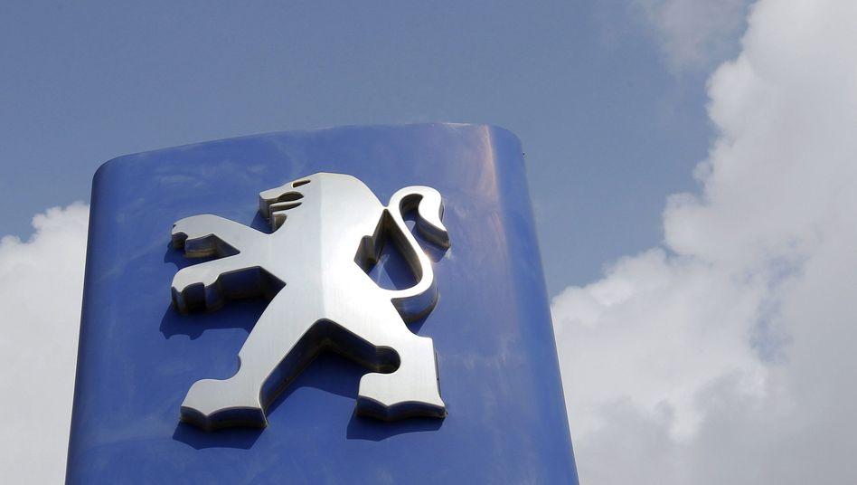 Kränkelnder Löwe: 2012 hat PSA einen Verlust von fünf Milliarden eingefahren