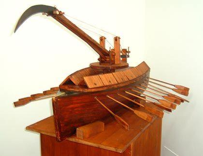 Kriegsschiff: Leonardo erfand auch den Doppelrumpf