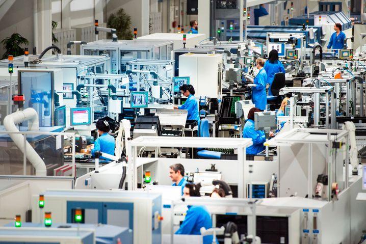 Siemens-Automatisierung in Amberg