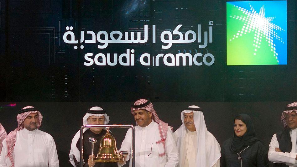 Feierliche Zeremonie zu zum Saudi-Aramco-Börsengang Mitte Dezember 2019 (Archivaufnahme)