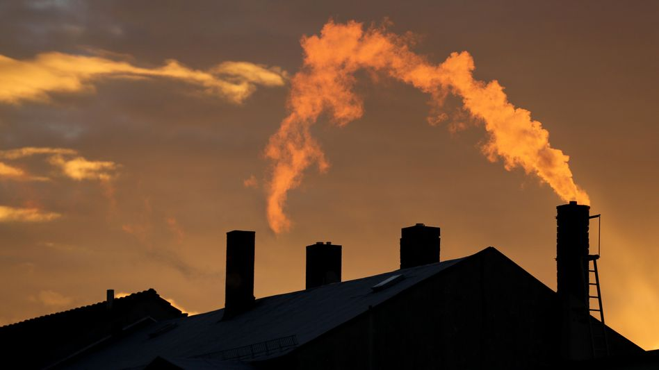 Hohe Heizlast in kalten tagen: CO2-Ausstoß in 2012 wohl in Deutschland getiegen