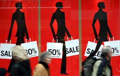 Kauflust: Die Deutschen shoppen wieder, so die Gfk