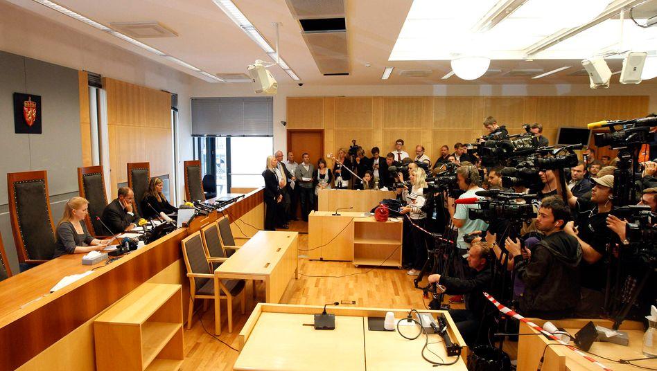 Haftprüfungstermin in Oslo: Anders Behring Breivik wird acht statt vier Wochen in Untersuchungshaft bleiben