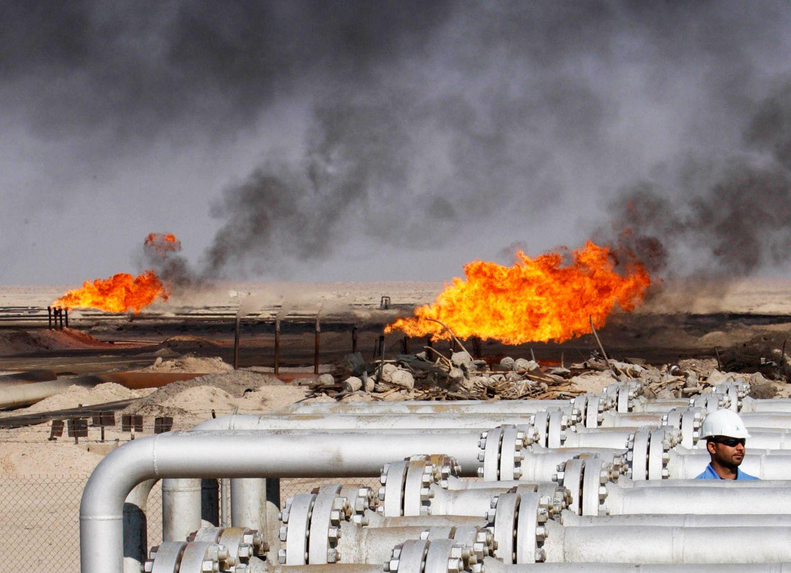 Ölpreis / Ölfeld / Öl / Irak / Erdöl / Krise