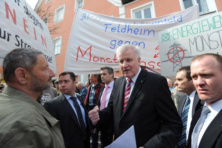 Vom Antreiber zum Kritiker der Energiewende: Bayerns Ministerpräsident Horst Seehofer (CSU) steht neuen Windparks und Stromstrassen skeptisch gegenüber